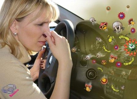 Запах табака в машине