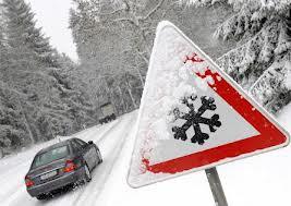 Вождение зимой.
